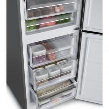 Refrigerador Vetro Bottom Frezeer 360 litros Elettromec 220v