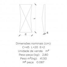 Revestimento Cimentício Parede Geométrico Duomo Strutturare