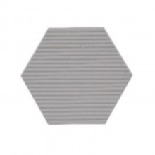 Revestimento Cimenticio Hexagonal Gauss Floke