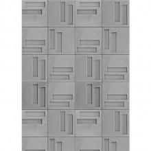 Revestimento Cimentício Gauss Quadra-2 por Zalc Arquitetura