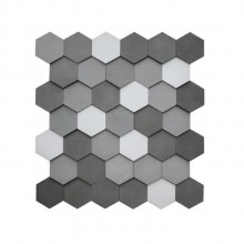 Revestimento Cimenticio Hexagonal uso paredes internas ou externas