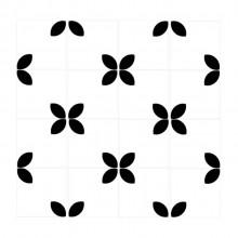 Azulejos Geométricos Decorativos Bud Folhas Vetro Designer