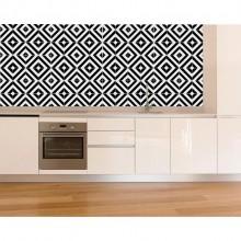Azulejos Geométricos Decorativos Listrados Studio Vetro