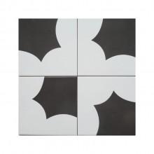 Revestimento de Parede Azulejo Decorado Paranoá Paulo Niemeyer 15x15cm