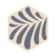 Ladrilho Hidráulico Hexagonal Folha Ladrilar em 40 cores