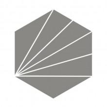 Ladrilho Hidráulico Hexagonal Sol Ladrilar Alta Resistência