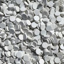 Pastilhas Cerâmicas Porcelana Redondas Keramika Argilex