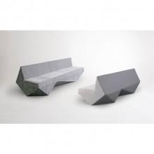 Sofá Fish Geométrico Design Assinado Estúdio Nuun Moderno