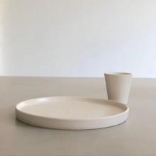 Copinho Minimalista para Café em Cerâmica Artesanal