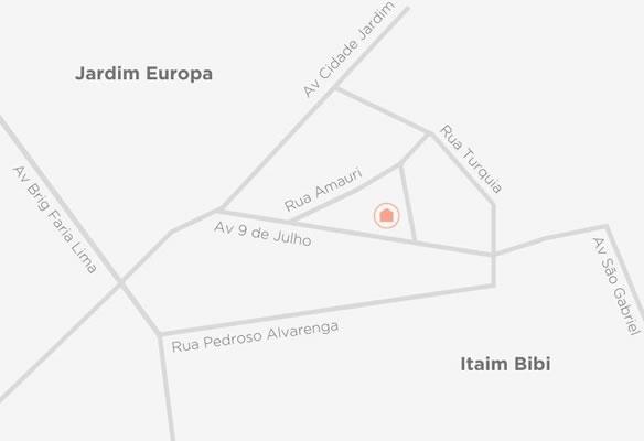 Localização Spot Casa